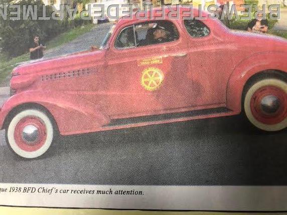 Photo #7  1938 Chief's car.