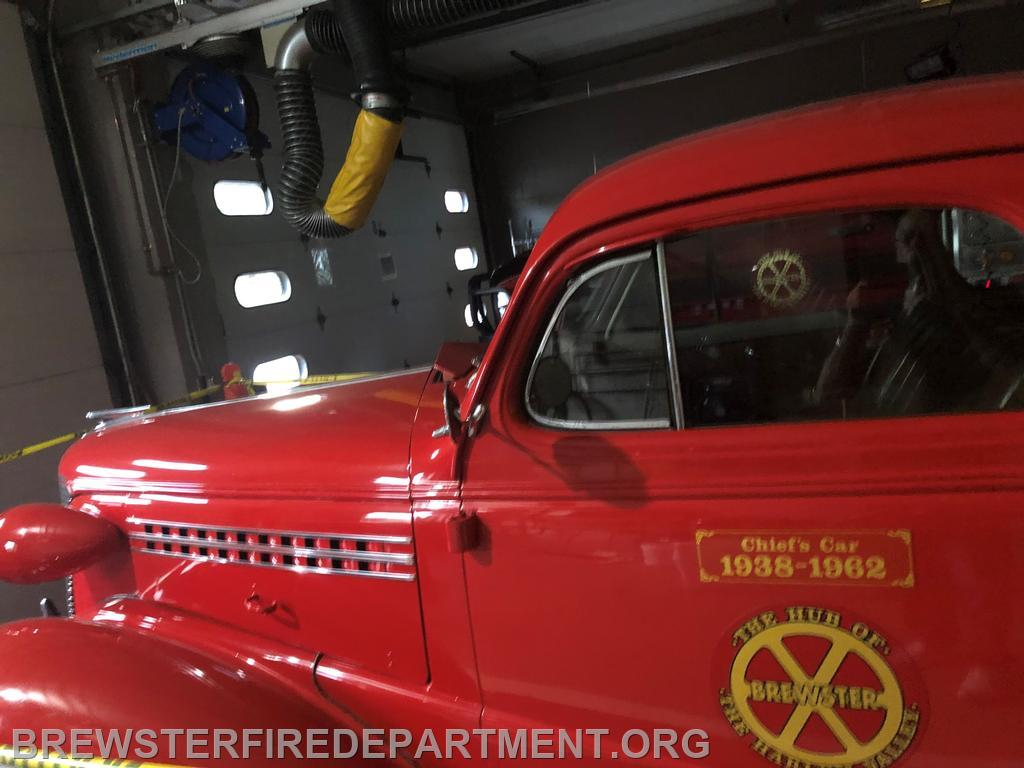 Photo #12 Chief's car after 151st Anniversary Parade held August 21,2021